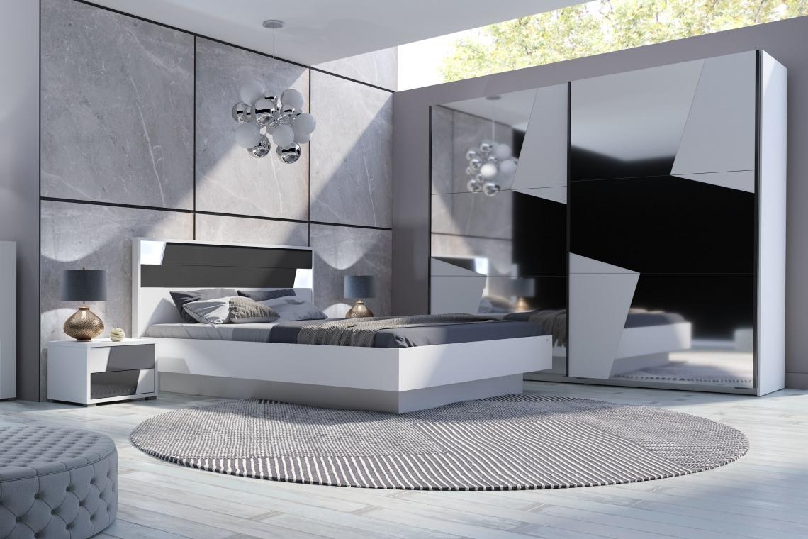 Źródło: Agata Meble. Sypialnia w nowoczesnym stylu