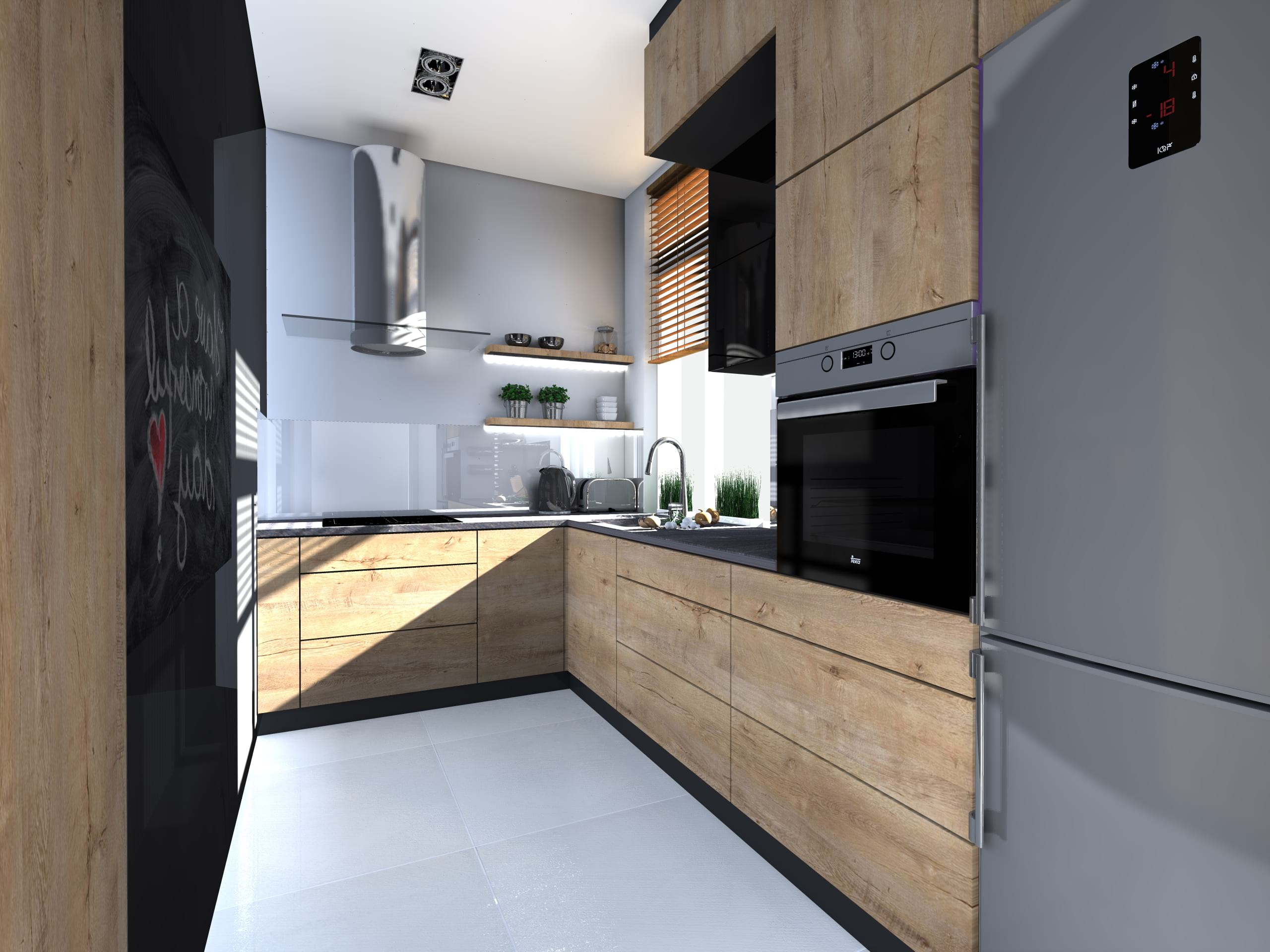 Projekty I Aranzacje Kuchni Architekt Wnetrz Dorota Bykowska